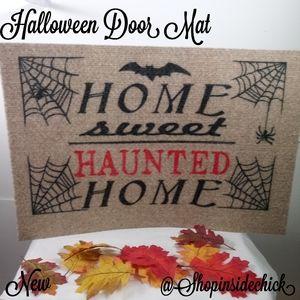 🍓$5 Halloween Door Mat NEW Home Decor Home Sweet